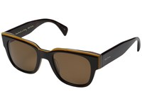 Paul Smith Eamont Deluxe Tortoise Stripe Brown Polarized
