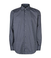 Peter Millar Hawthorn Check Shirt Male Blue