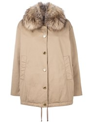 Moncler 'Egeria' Jacket Nude And Neutrals