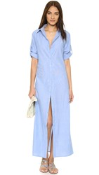Thayer Shirtdress Cover Up Chambray