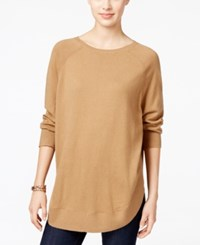 Styleandco. Style Co. Petite Boat Neck Poncho Sweater Only At Macy's Industrial Blue Black