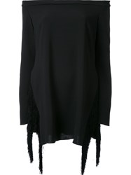 Ellery Off The Shoulder Blouse Black