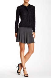 Joie Ribbed A Line Skirt Gray