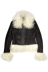 Mcq By Alexander Mcqueen Shearling Jacket