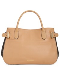 Giani Bernini Pebble Sig Satchel Only At Macy's Spice Taupe
