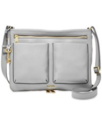 Fossil Piper Leather Small Crossbody Iron
