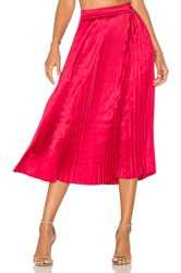 Elizabeth And James Lucy Skirt Red