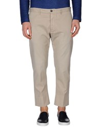 People Trousers Casual Trousers Men Light Grey