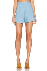 Heartloom Eve Short Blue