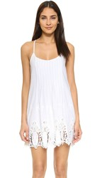 Liv Ganesha Pleated Dress White