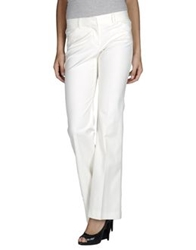 Theory Casual Pants Ivory