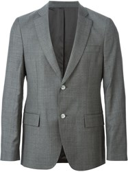 Officine Generale Two Button Blazer Grey
