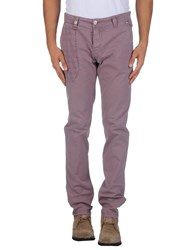 Nicwave Trousers Casual Trousers Men Mauve