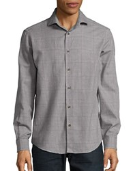 Black Brown Glen Plaid Sportshirt Pale Marble