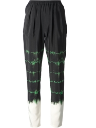 Stella Mccartney Tie Dye Trousers Black