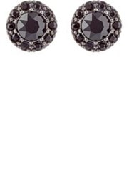 Givenchy Double Sided Stud Earrings Colorless