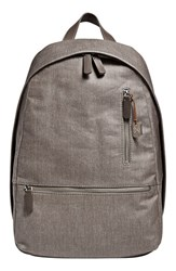 Men's Skagen 'Kroyer' Waxed Canvas Twill Backpack Grey Dark Heather Grey