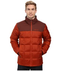Marmot Greenridge Jacket Dark Rust Marsala Brown Men's Coat Red