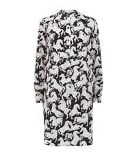 Stella Mccartney Shereen Horse Print Dress Female Black