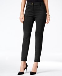 Styleandco. Style Co. Utility Pocket Skinny Pants Only At Macy's Deep Black