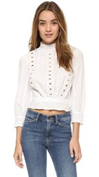 Citizens Of Humanity Josie Blouse White