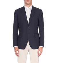 Reiss Brill Wool Blazer Navy