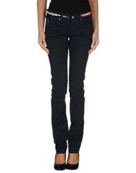 Isabel Marant Denim Pants Dark Green