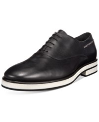 John Galliano Men's Maurice Oxfords Men's Shoes Black White