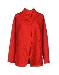 I'm Isola Marras Full Length Jackets Red