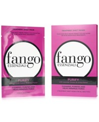 Borghese Pre Sale Fango Essenziali Sheet Mask 4 Pack Purify Only At Macys No Color