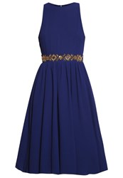 Tfnc Amber Cocktail Dress Party Dress Navy Dark Blue