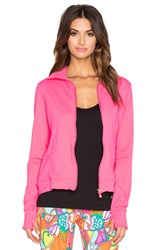 Trina Turk Zip Up Jacket Pink