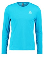 Odlo Imperium Long Sleeved Top Blue Jewel Seaport Turquoise
