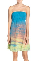 Women's Hard Tail Strapless Cover Up Dress