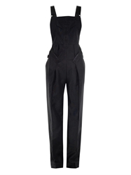 Alexander Wang Matrix Cotton Blend Overalls