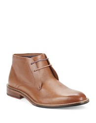 Ted Baker Torsdi Pebbled Leather Ankle Boots Tan Leather