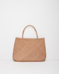Dragon Optical Large Sophie Tote Natural