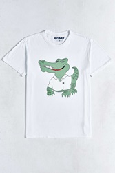 Boast Alligator Tee White