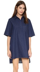 The Fifth Label Double Or Nothing Dress Deep Indigo Denim