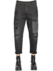 Diesel Carrot Chino Patch Cotton Denim Jeans