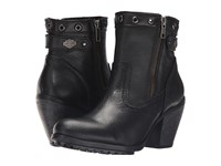 Harley Davidson Inwood Black Women's Pull On Boots