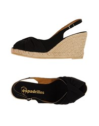 Espadrilles Footwear Sandals Women Black