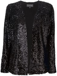 Michael Stars Sequinned Jacket Black