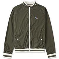 Maison Kitsune Windbreaker Green