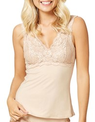 Fine Lines Luxuries Lace Cup Camisole Skin