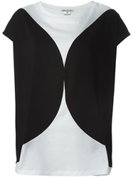 Stefano Mortari Block Colour Top Black