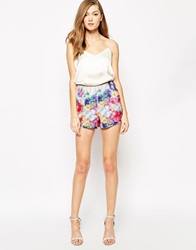 Boulee Tommy Shorts With Leather Detail Balletprint