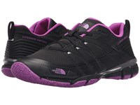 The North Face Litewave Ampere Tnf Black Sweet Violet Women's Shoes