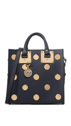 Sophie Hulme Square Tote Midnight Navy