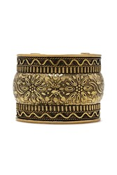 Forever 21 Etched Floral Cuff